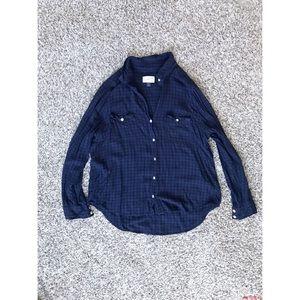 Universal Thread Flannel Top